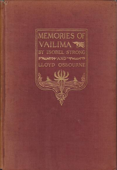 Image for MEMORIES OF VAILIMA