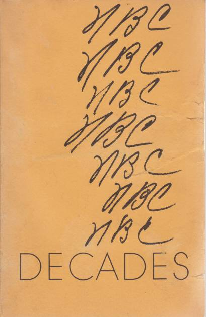 Image for DECADES Selections from the Poetry of Nora B. Cunningham