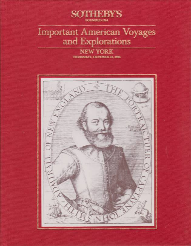 Image for IMPORTANT AMERICAN VOYAGES AND EXPLORATIONS Property from a Private Collection