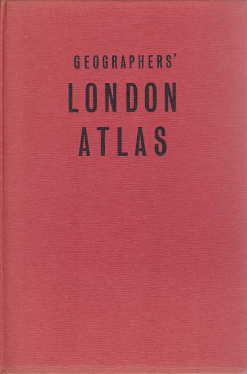 Image for GEOGRAPHERS' LONDON ATLAS