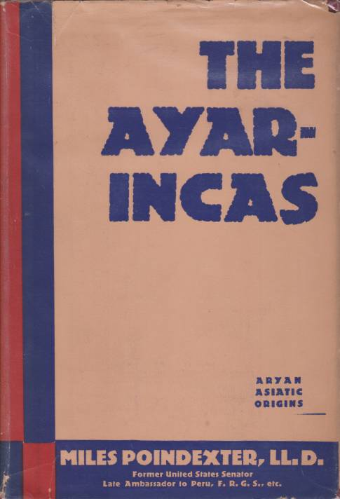 Image for THE AYAR-INCAS [VOLUME TWO ONLY] Asiatic Origins