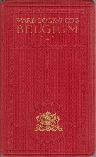 Image for HANDBOOK TO BELGIUM Including the Ardennes and Luxemburg