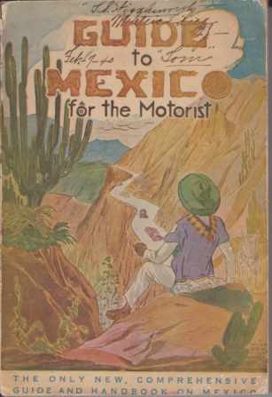 Image for GUIDE TO MEXICO For the Motorist