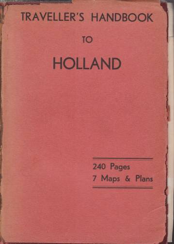 Image for COOK'S HANDBOOK TO HOLLAND
