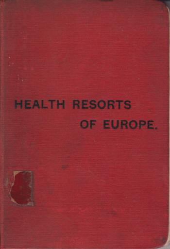 Image for THE HEALTH RESORTS OF EUROPE