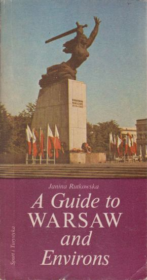 Image for A GUIDE TO WARSAW AND ENVIRONS