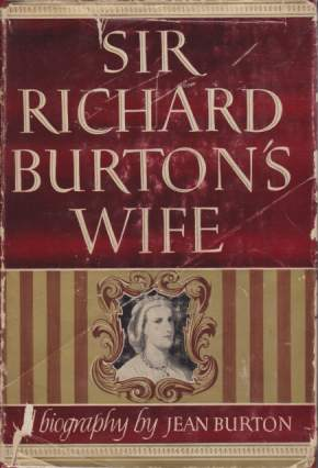 Image for SIR RICHARD BURTON'S WIFE