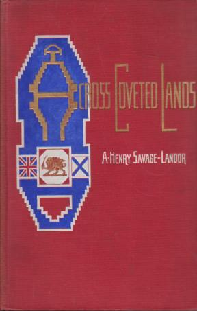 Image for ACROSS COVETED LANDS [TWO VOLUME SET] A Journey from Flushing (Holland) to Calcutta, Overland