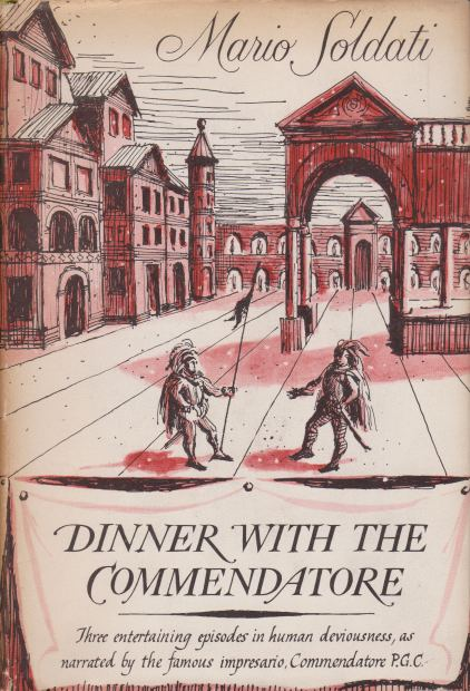 Image for DINNER WITH THE COMMENDATORE