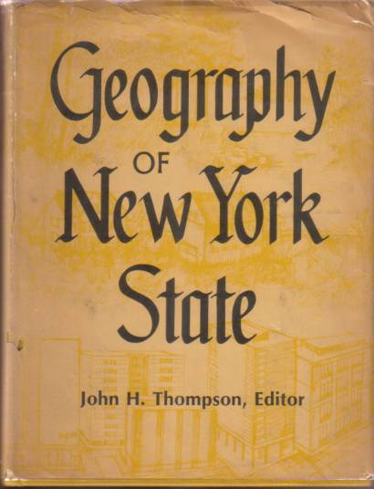 Image for GEOGRAPHY OF NEW YORK STATE