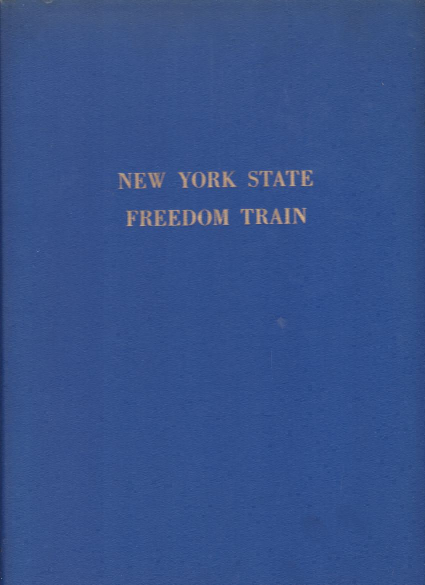 Image for NEW YORK STATE FREEDOM TRAIN Official Document Book