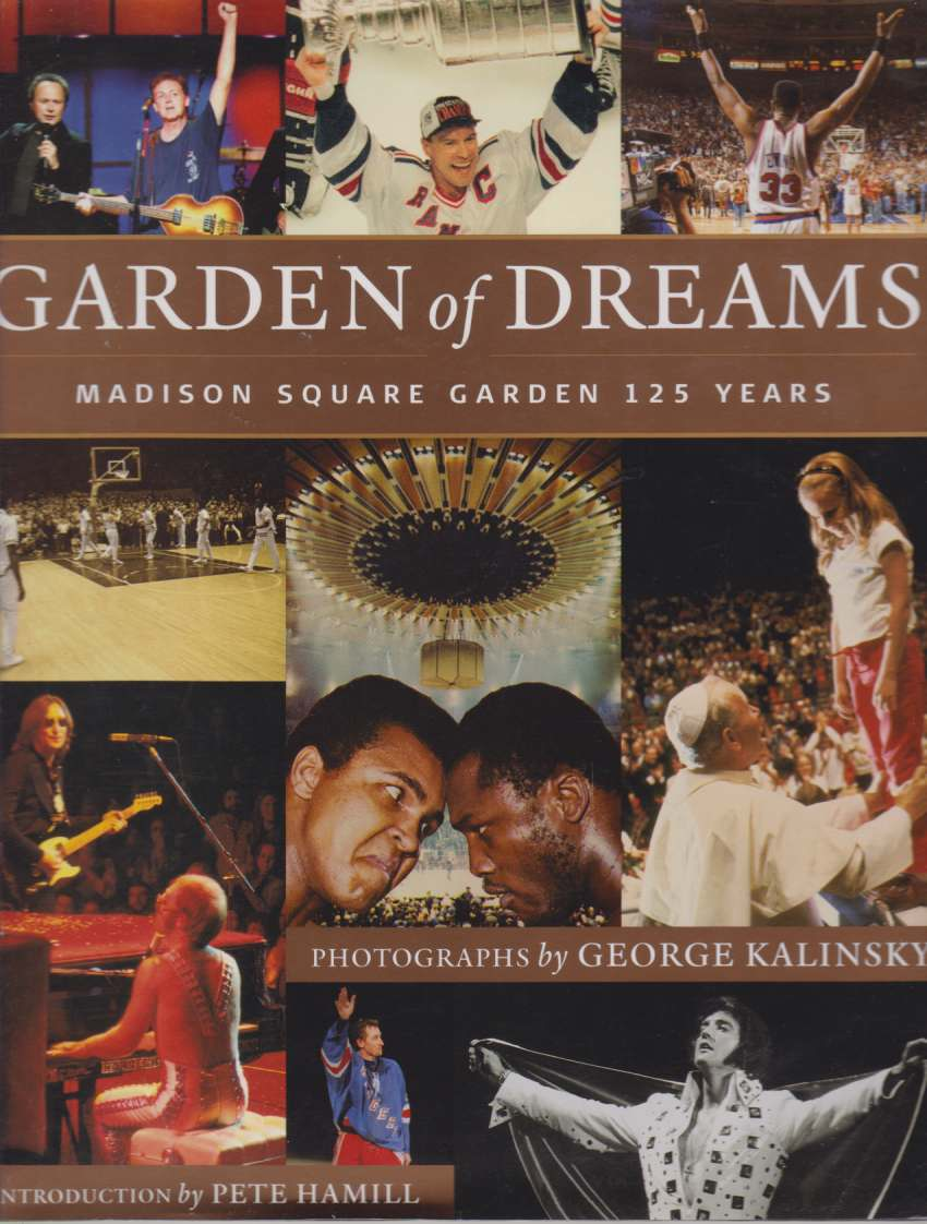 Image for GARDEN OF DREAMS Madison Square Garden 125 Years