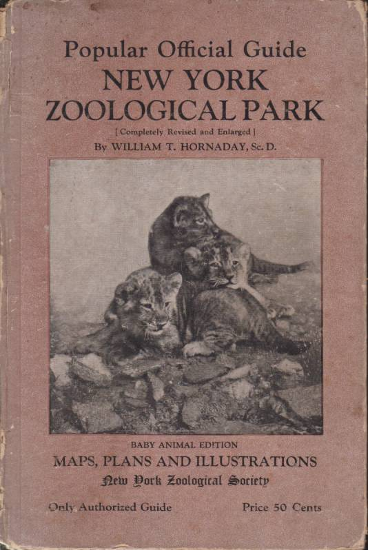 Image for OFFICIAL GUIDE TO THE NEW YORK ZOOLOGICAL PARK
