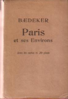 PARIS ET SES ENVIRONS Manual Du Voyager