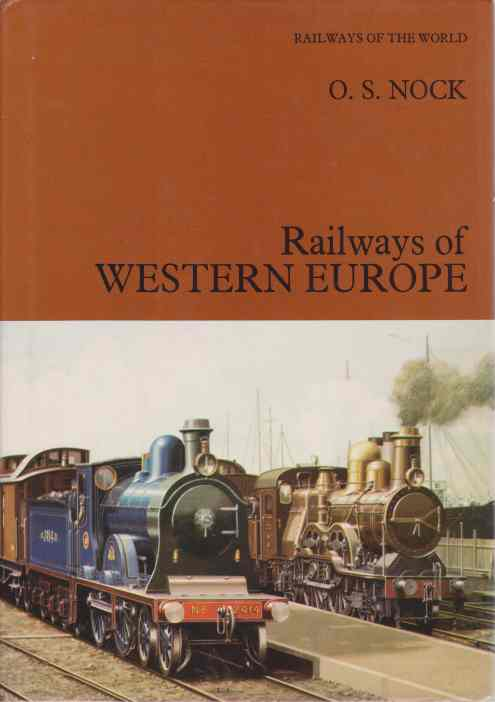 Image for RAILWAYS OF WESTERN EUROPE