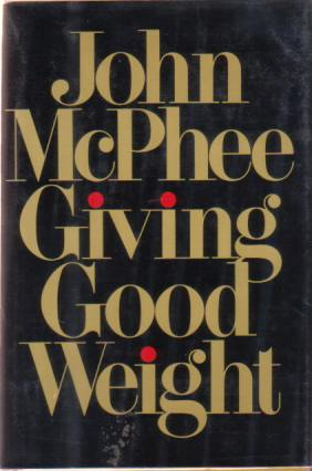 Image for GIVING GOOD WEIGHT