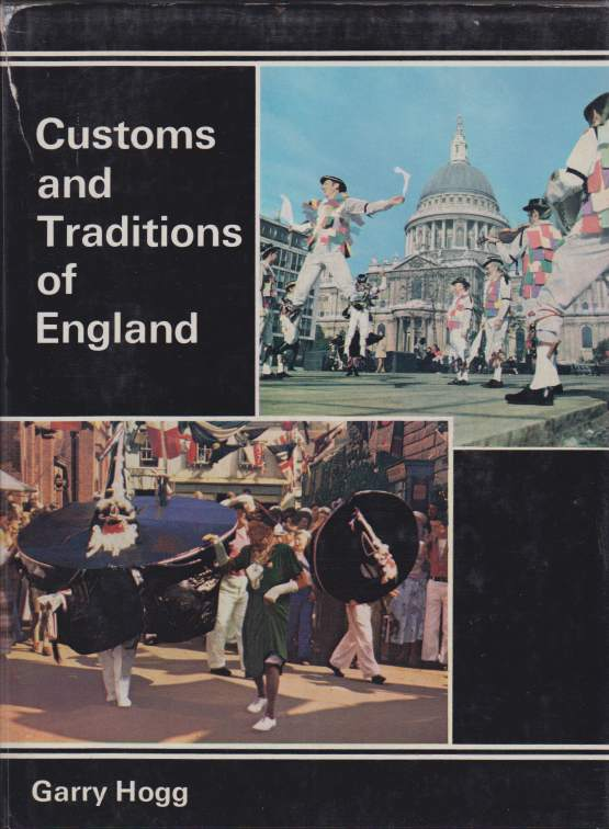 Image for CUSTOMS AND TRADITIONS OF ENGLAND