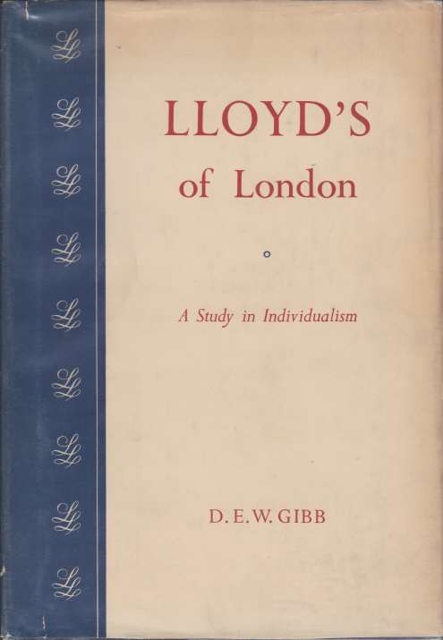 Image for LLOYD'S OF LONDON A Study in Individualism