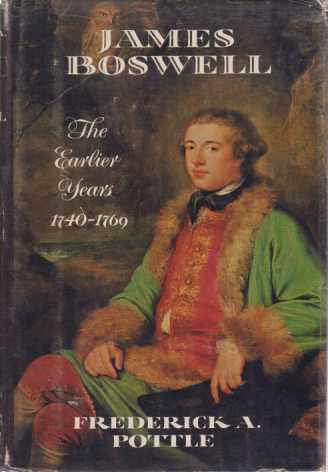 Image for JAMES BOSWELL The Earlier Years 1740-1769
