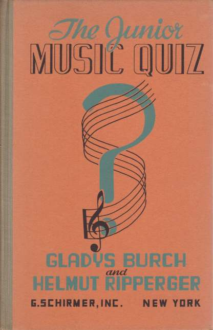 Image for THE JUNIOR MUSIC QUIZ