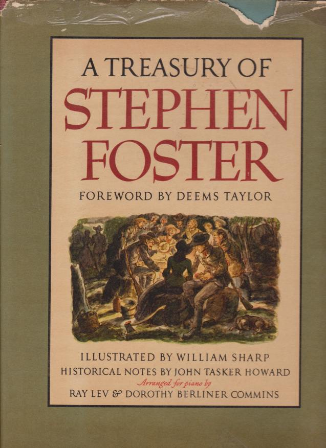 Image for A TREASURY OF STEPHEN FOSTER