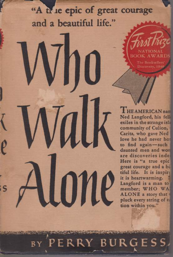 Image for WHO WALK ALONE