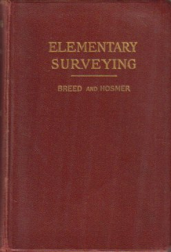 Image for THE PRINCIPLES AND PRACTICE OF SURVEYING Volume 1. Elementary Surveying