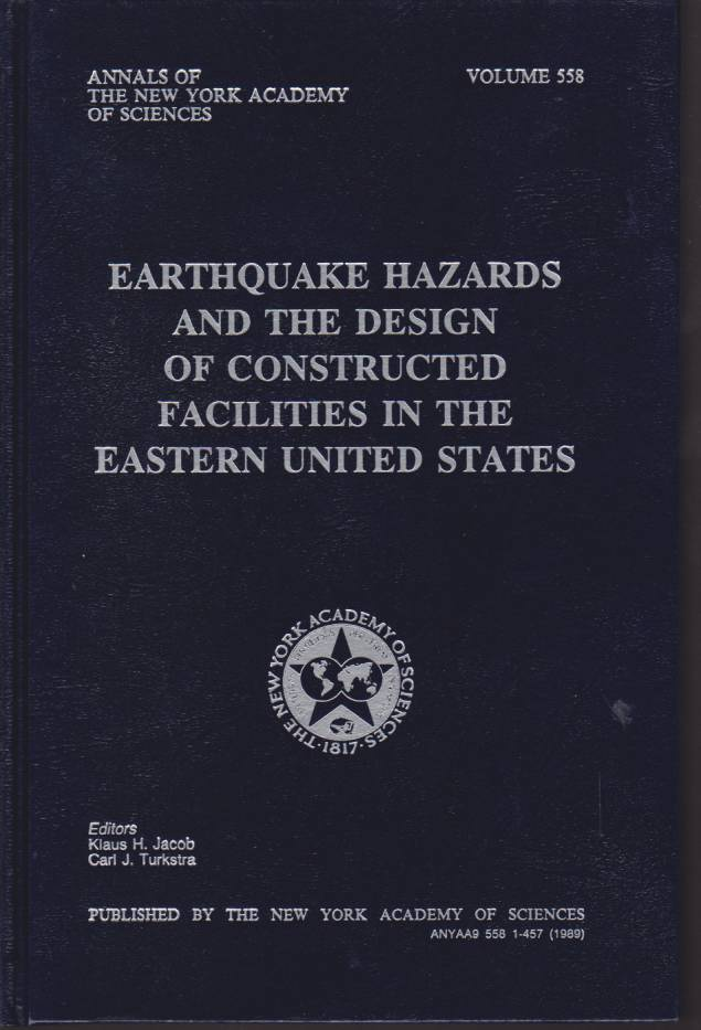Image for EARTHQUAKE HAZARDS AND THE DESIGN OF CONSTRUCTED FACILITIES IN THE EASTERN UNITED STATES