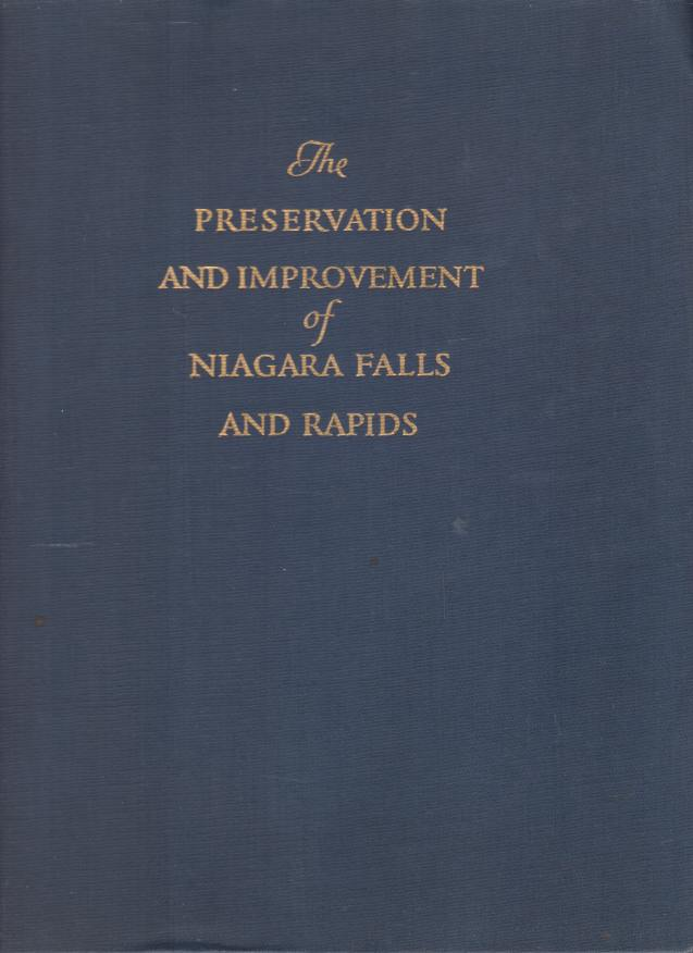 Image for PRESERVATION AND IMPROVEMENT OF THE SCENIC BEAUTY OF THE NIAGARA FALLS AND RAPIDS