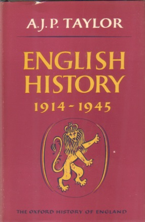 Image for ENGLISH HISTORY 1914-1945