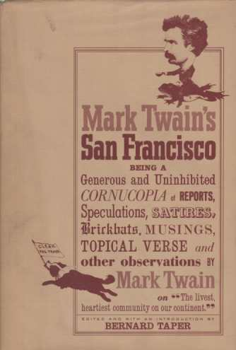Image for MARK TWAIN'S SAN FRANCISCO