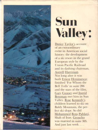 Image for SUN VALLEY: