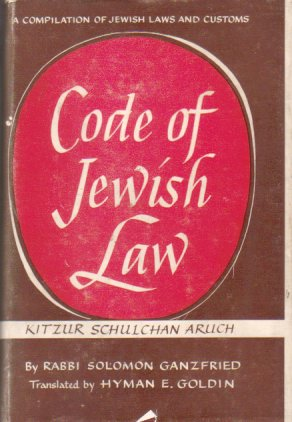 Image for CODE OF JEWISH LAW Kitzur Shulhan Aruh