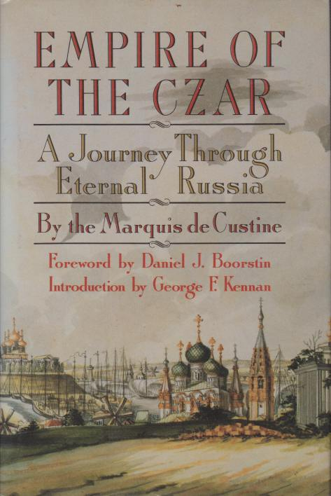 Image for EMPIRE OF THE CZAR A Journey through Eternal Russia