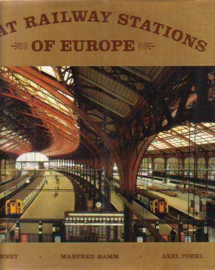 Image for GREAT RAILWAY STATIONS OF EUROPE