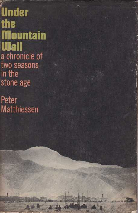 Image for UNDER THE MOUNTAIN WALL A Chronicle of Two Seasons in the Stone Age