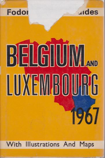 Image for BELGIUM AND LUXEMBOURG 1967