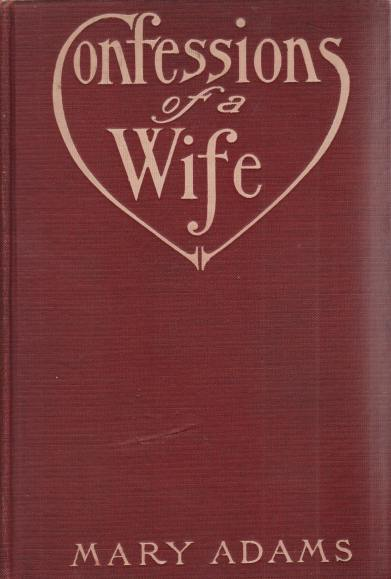Image for CONFESSIONS OF A WIFE