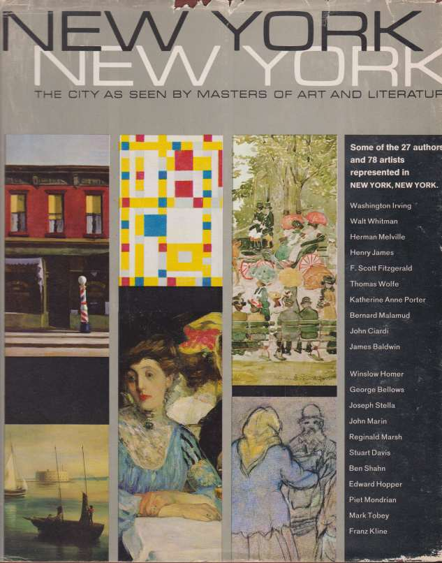 Image for NEW YORK NEW YORK The City As Seen by Masters of Art and Literature