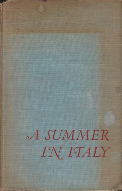 Image for A SUMMER IN ITALY