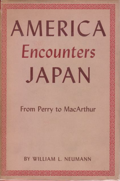 Image for AMERICA ENCOUNTERS JAPAN From Perry to MacArthur