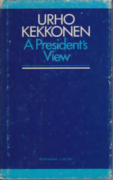 Image for A PRESIDENT'S VIEW