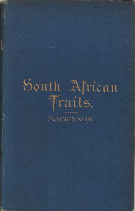 Image for SOUTH AFRICAN TRAITS