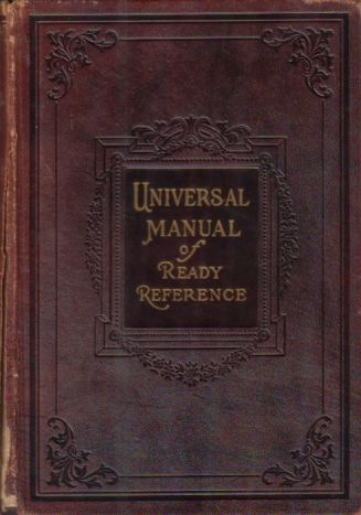 Image for UNIVERSAL MANUAL OF READY REFERENCE