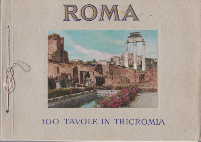 Image for RICORDO DI ROMA 100 Color Photographs