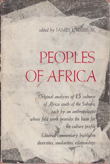 Image for PEOPLES OF AFRICA