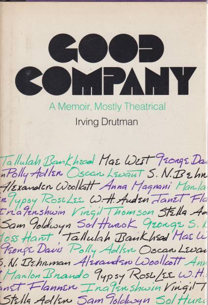 Image for GOOD COMPANY A Memoir, Mostly Theatrical