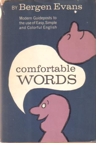Image for COMFORTABLE WORDS