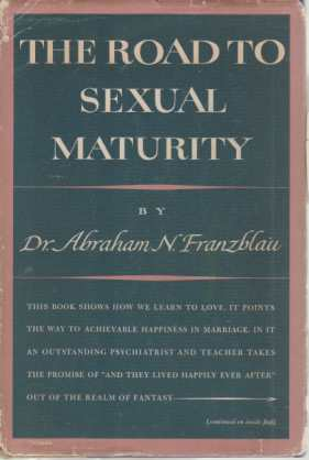 Image for THE ROAD TO SEXUAL MATURITY
