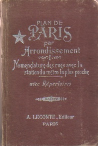 Image for PLAN DE PARIS PAR ARRONDISSEMENT